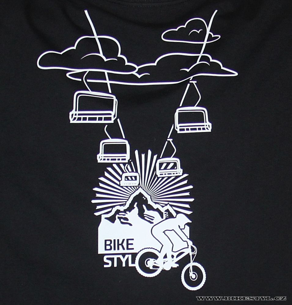 P 225 Nsk 233 Triko Mountain Cableway čern 233 Bikestyl Bikestyl