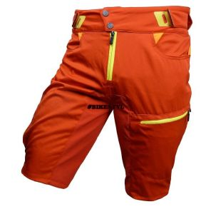 Haven Singletrail kraťasy bike shorts red