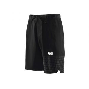 100% DRAFT ATHLETIC SHORT BLACK-SLIVER