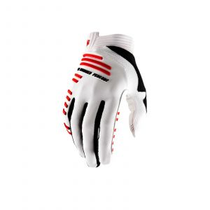 100% rukavice R-CORE GLOVE WHITE