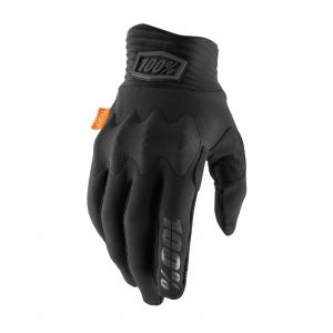 100% rukavice Cognito gloves black S