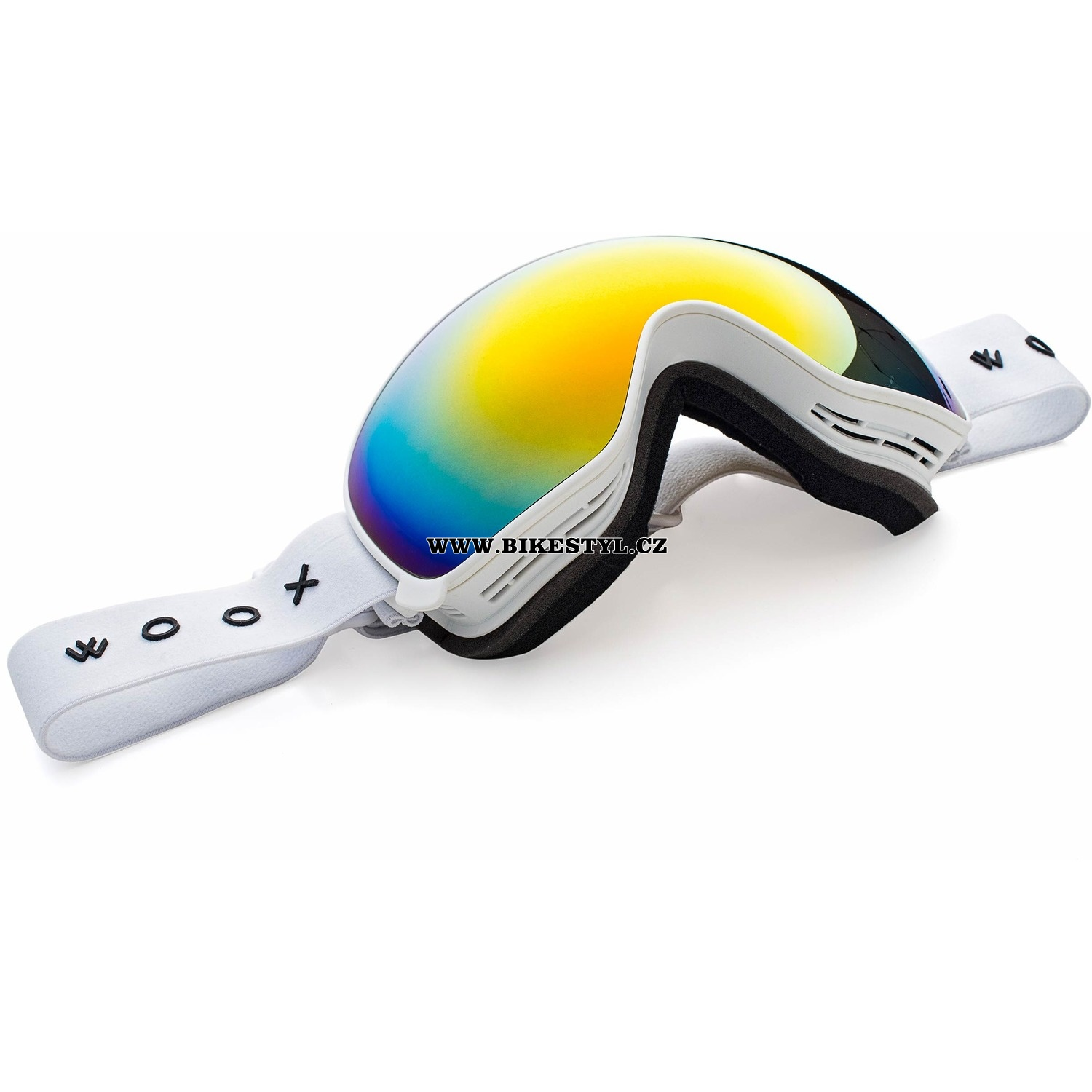 Snowboard brýle Woox opticus Opolentus white-red
